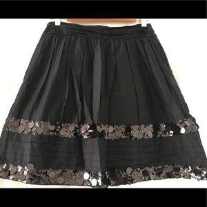 Festive Sequin Ann Taylor Loft Skirt